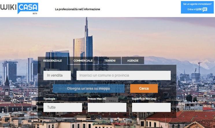 Cercare casa online con Wikicasa.it