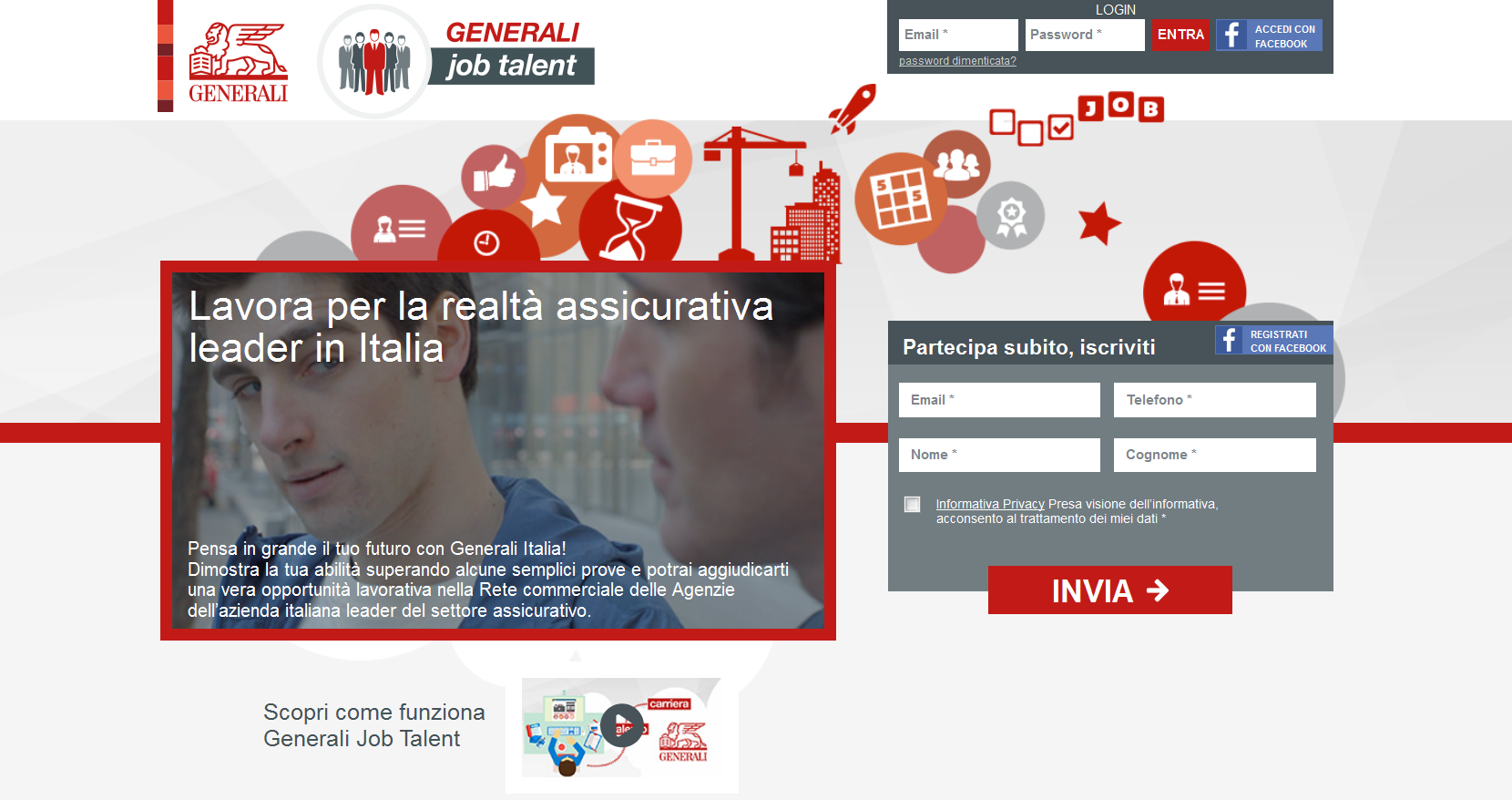 Home Page Generali Job Talent