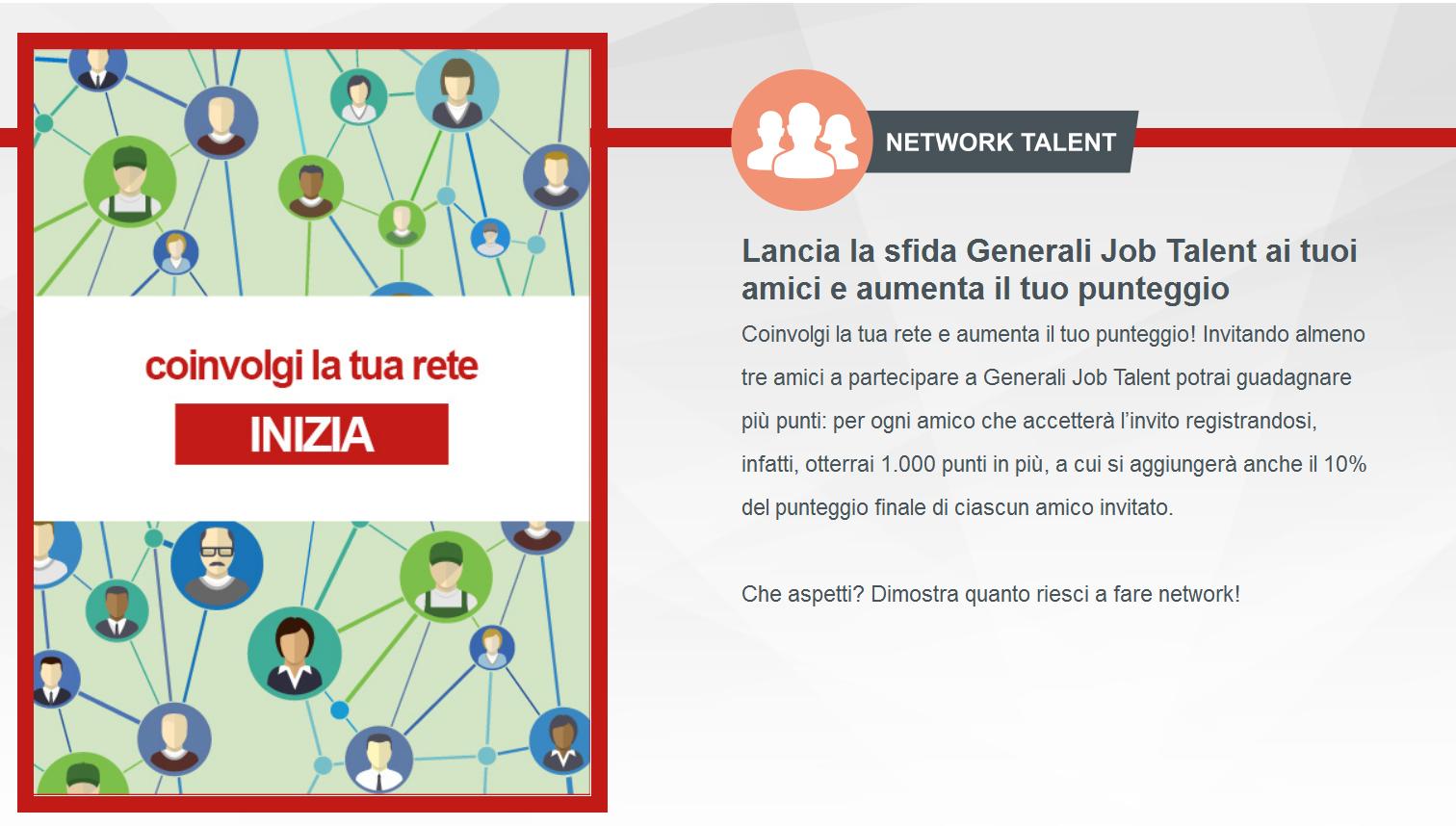 Coinvolgi talenti - Generali Job Talent