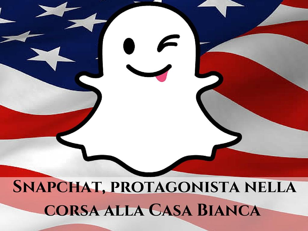 Photo of Snapchat, protagonista nella corsa alla Casa Bianca