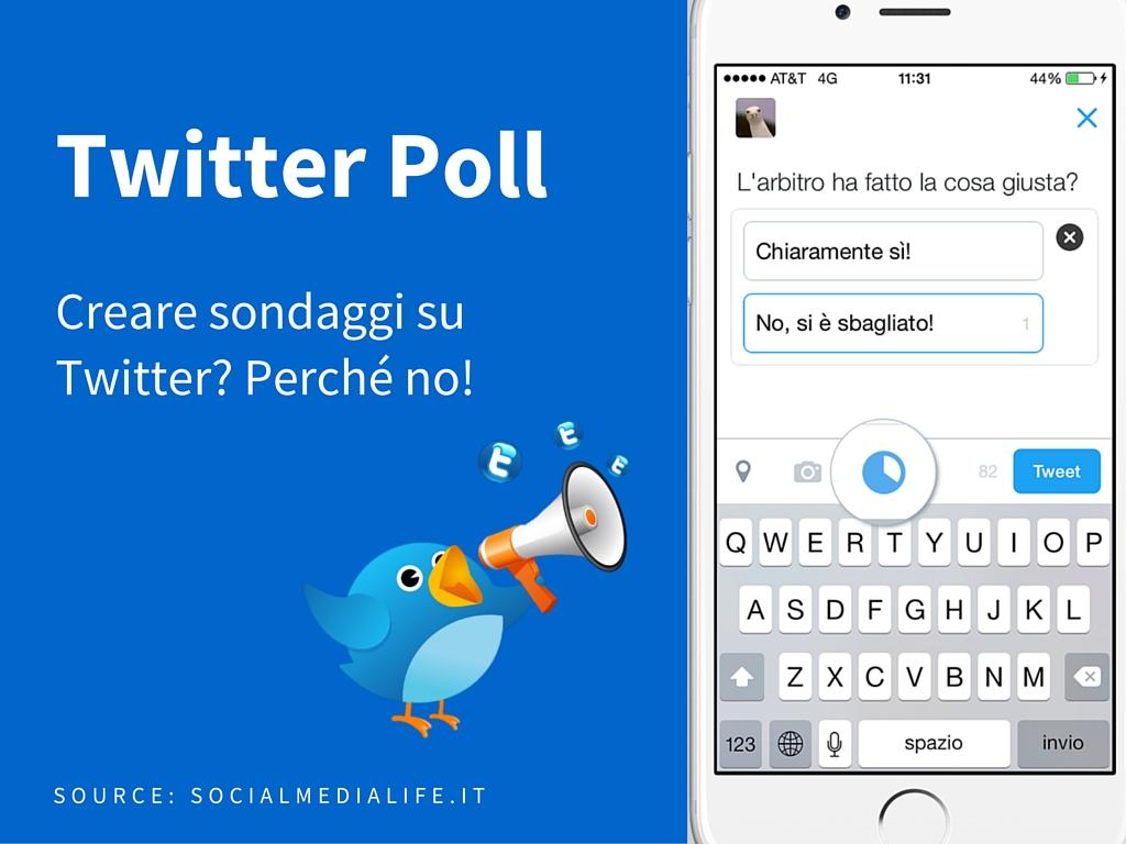 Photo of Creare sondaggi su Twitter? Perché no!