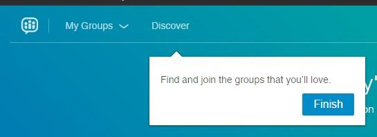 Nuovi Gruppi LinkedIn -Trova Gruppi