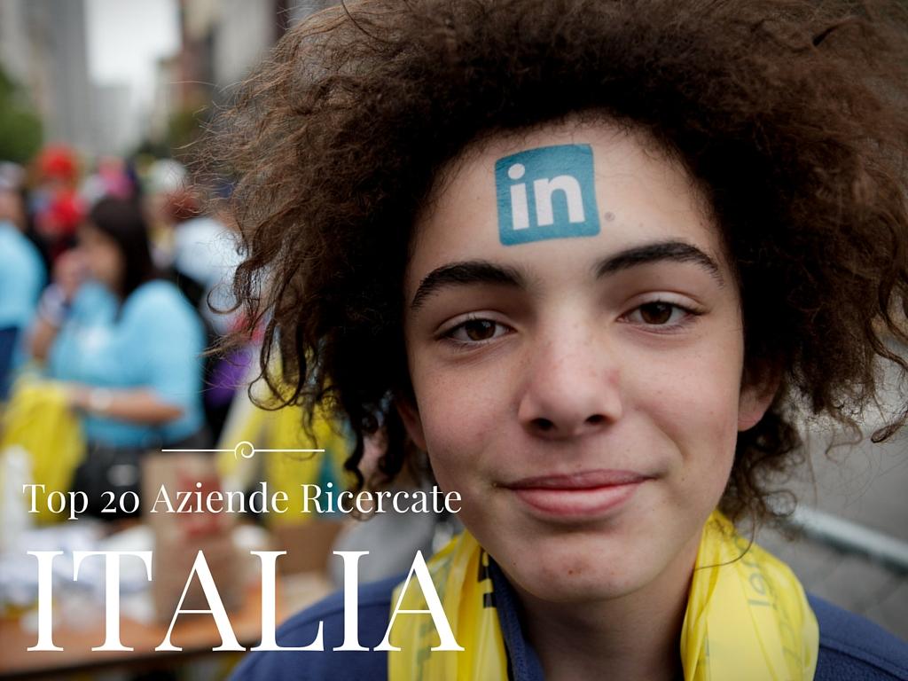 Photo of Le Aziende più cercate su LinkedIn in Italia nel 2015