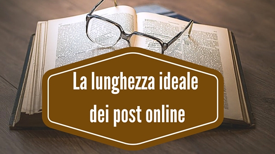 Photo of La lunghezza ideale dei post online