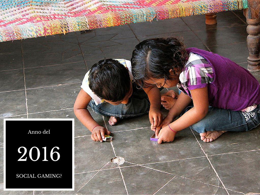 2016 anno del Social Gaming