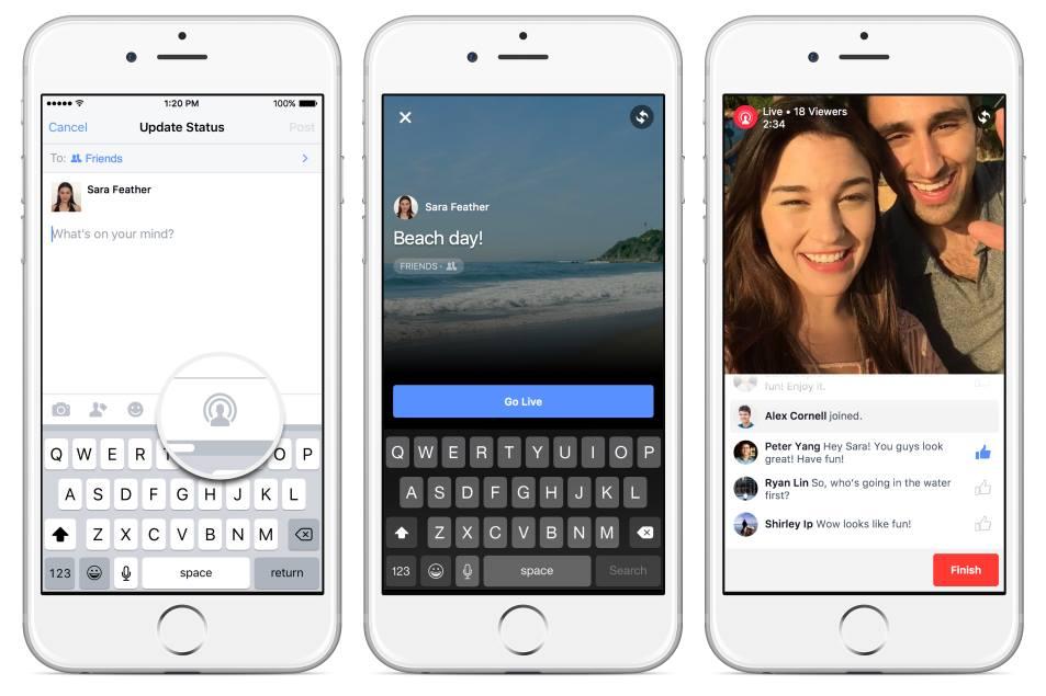 Facebook Video Streaming - Come funziona