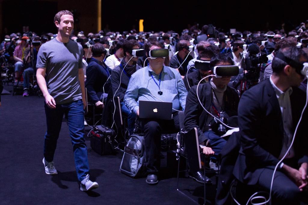 Zuckerberg al Mobile World Congress Barcellona 2016