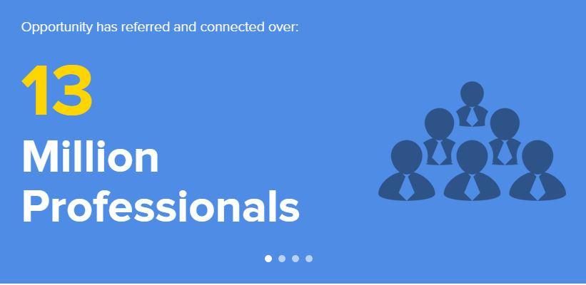 13 milioni di professionisti su Opportunity