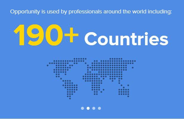 Opportunity presente in 190 paesi