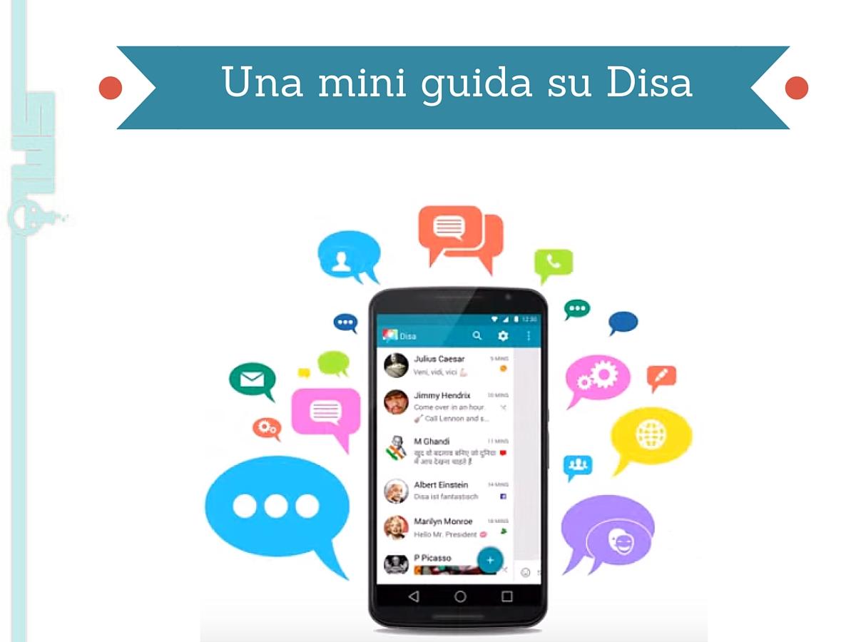 Disa app unifica servizi messaggistica istantanea
