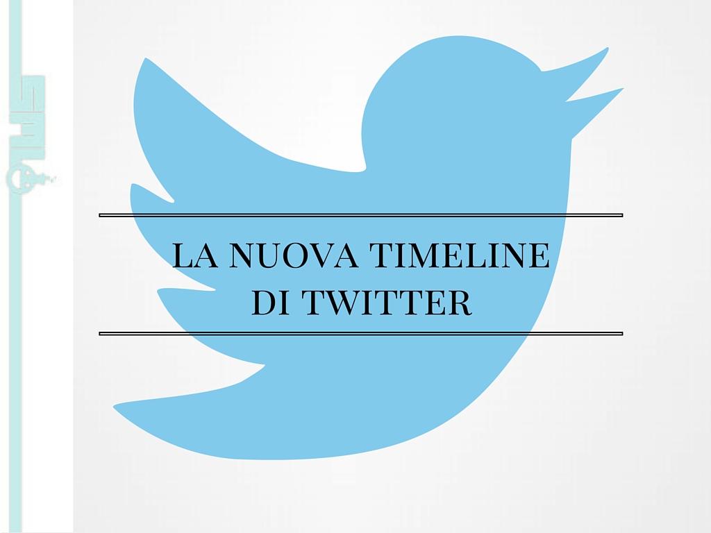 Nuova timeline Twitter