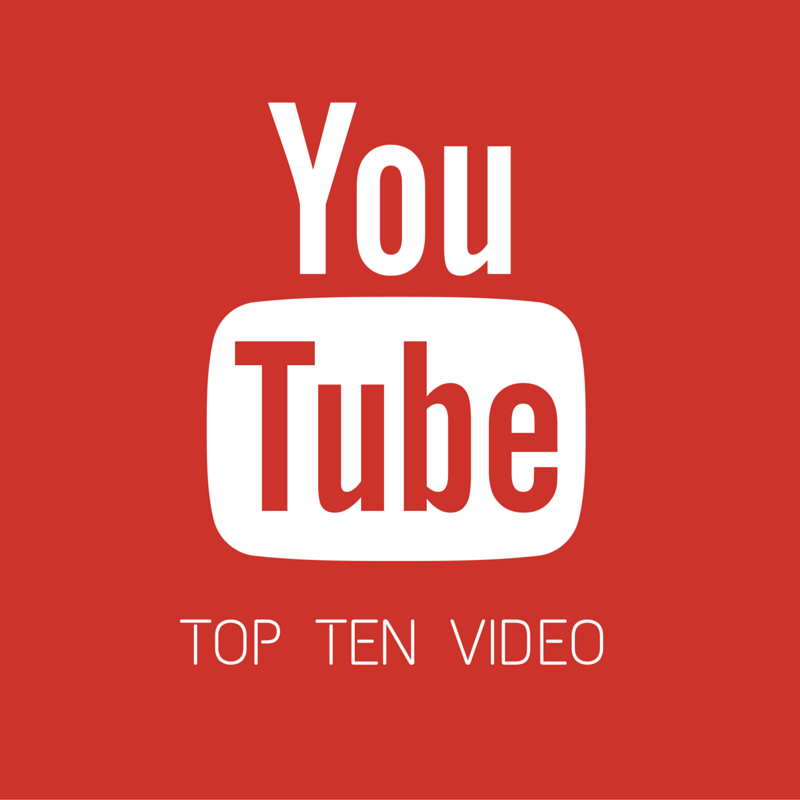 Top Ten video YouTube 2015