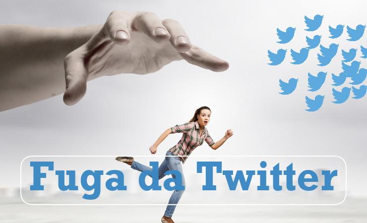 Twitter utenti in calo - Dati 2011-2015