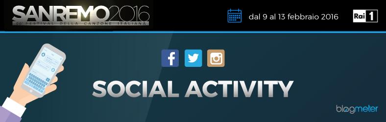 I social network e Sanremo 2016