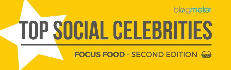 Top Social Celebrities Settore Food