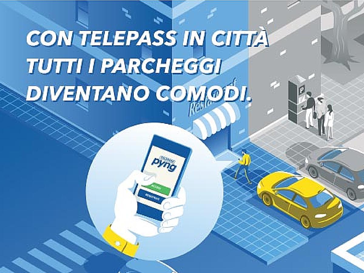 Photo of Telepass Pyng: un servizio innovativo per i parcheggi in città!