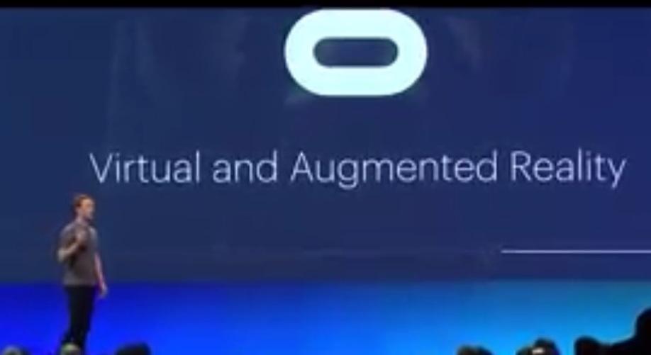 Facebook Realtà Aumentata e Realtà Virtuale