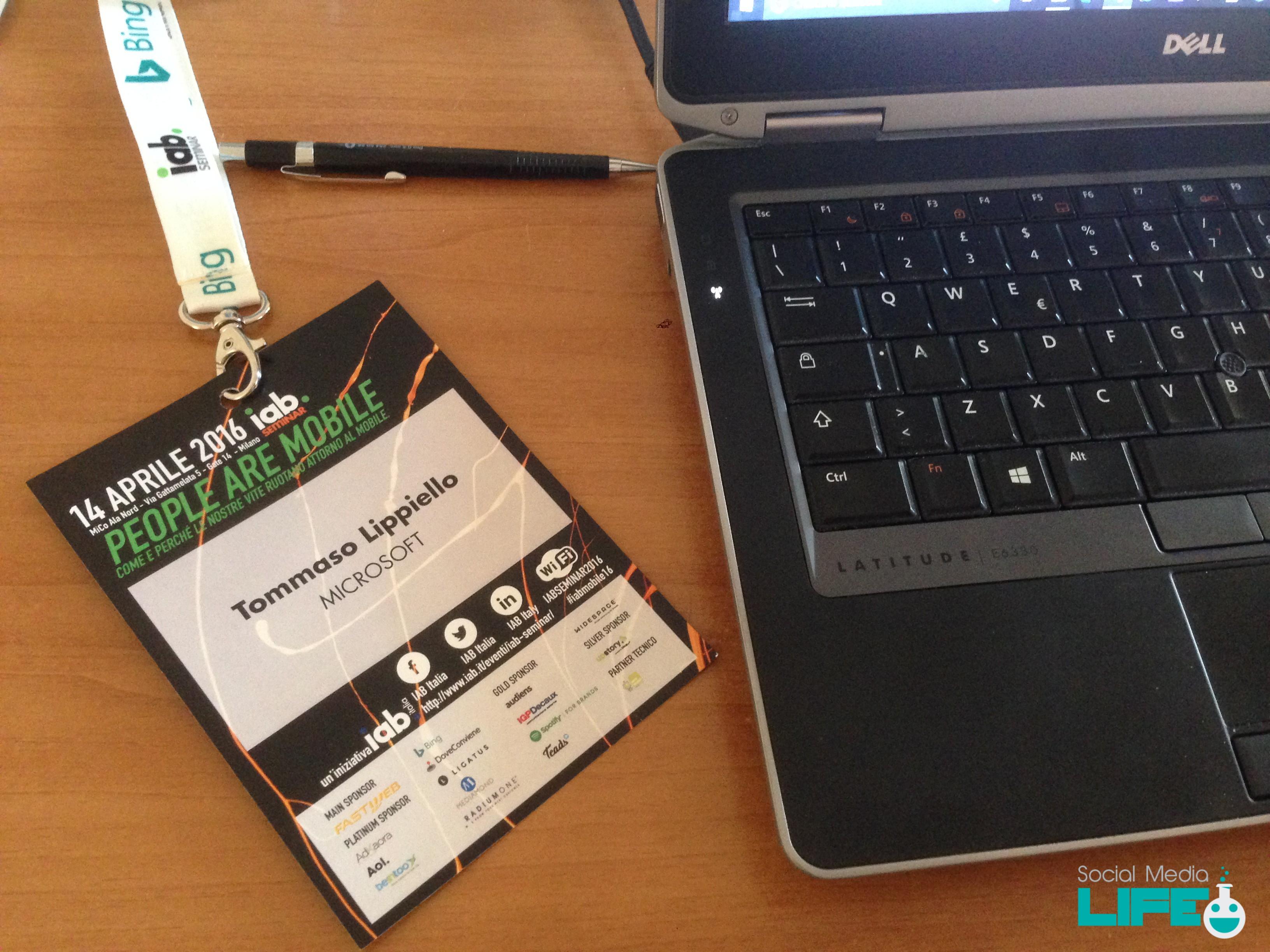 IAB Mobile Seminar 2016 - Futuro Mobile Italia