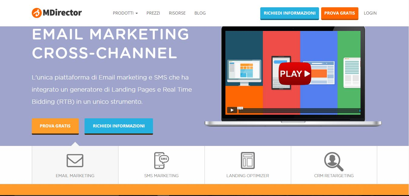 MDirector - Email Marketing Cross-Channel