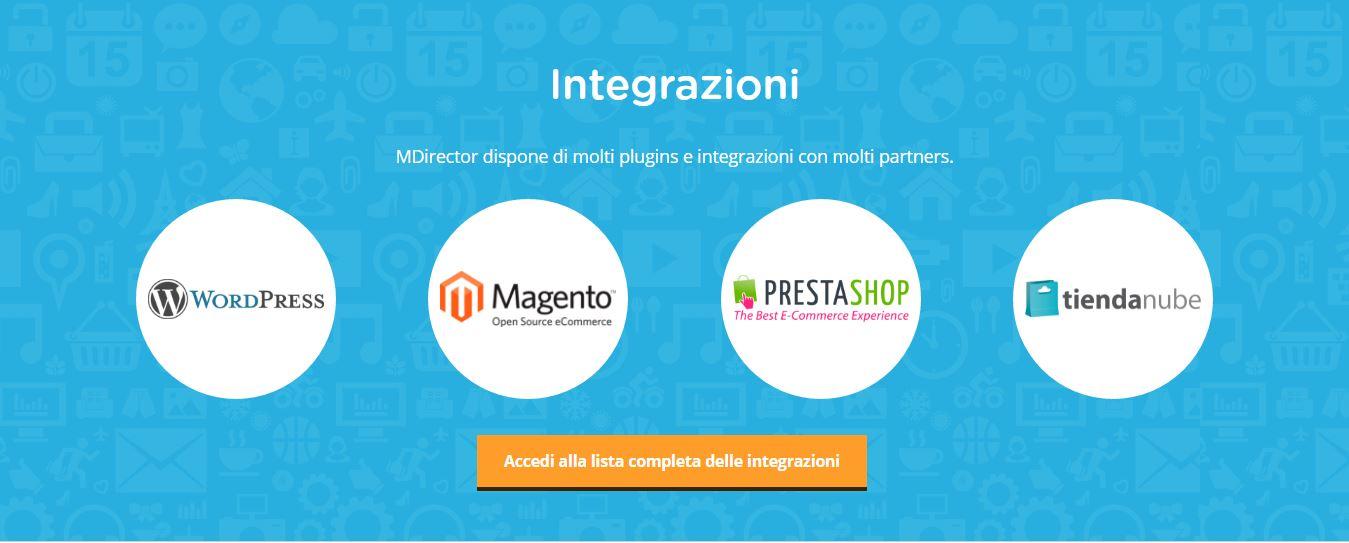 MDirector - Integrazioni Applicazioni e plugins