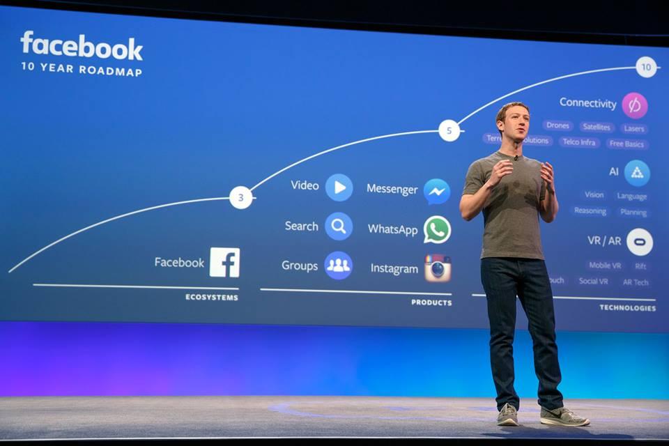 Novità F8 2016 - Mark Zuckerberg