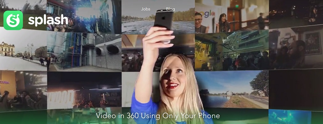 Photo of Splash: l'app per girare video a 360 gradi