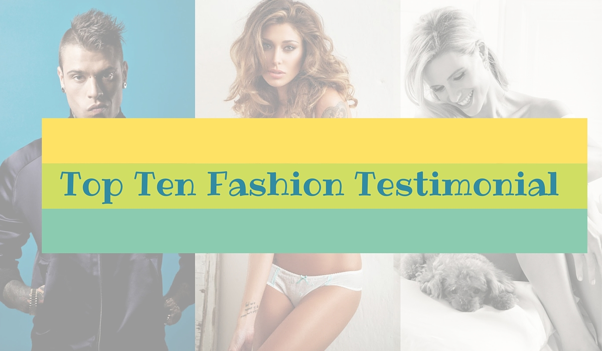 Photo of La Top Ten dei Testimonial Fashion sui Social Media