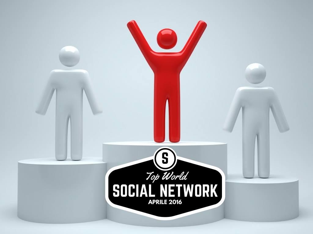Photo of I Social Network più utilizzati al mondo (Aprile 2016)