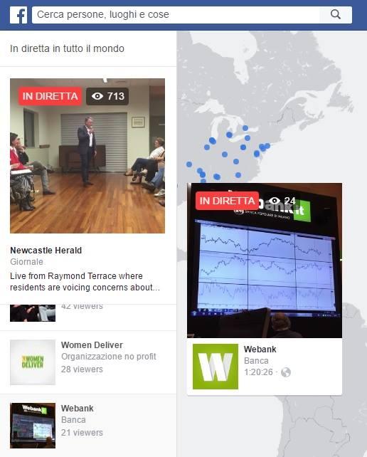 Video da tutto il mondo - WEbank - Facebook