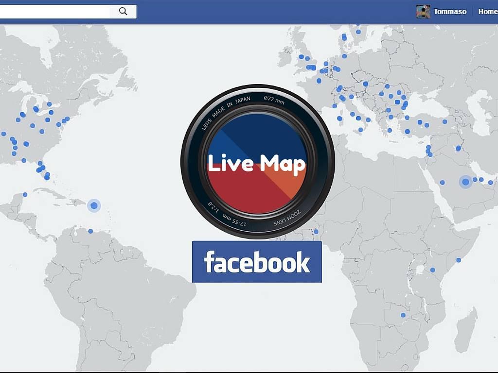 Photo of La mappa interattiva dei Live Video di Facebook