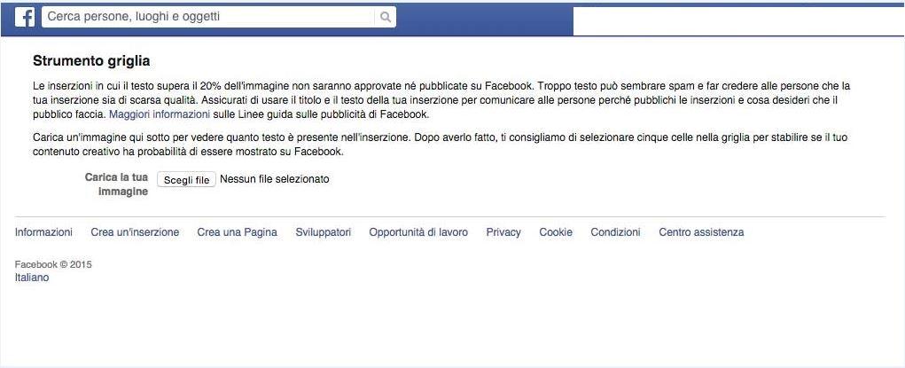 Ex schermata Facebook overlay