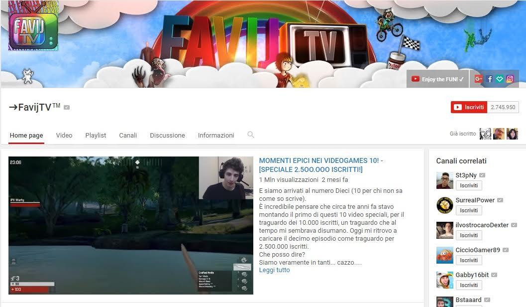 Favij - YouTuber