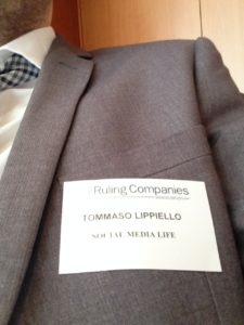 Tommaso Lippiello - Relatore The Ruling Companies