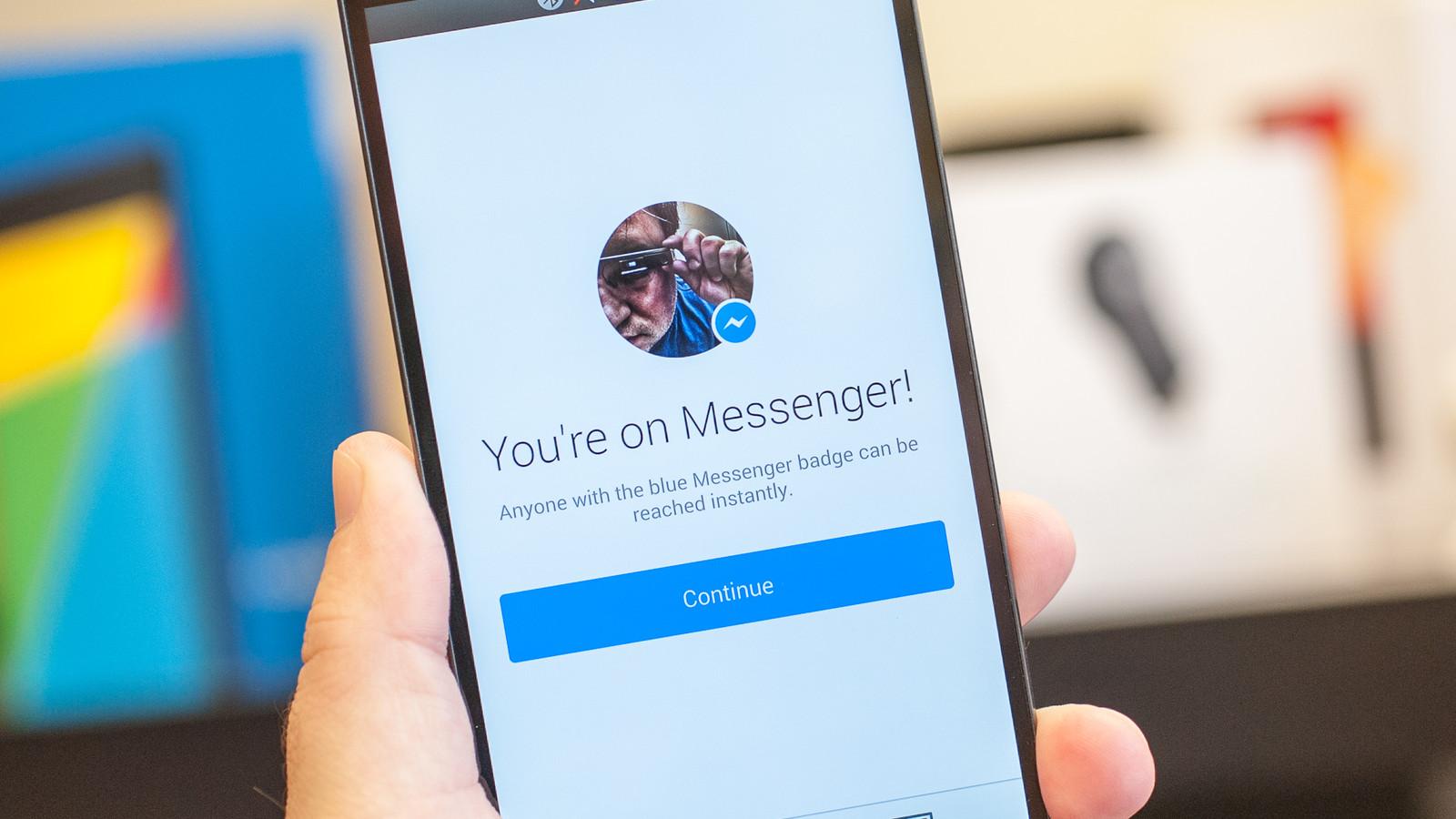 App Facebook Messenger 1 miliardo utenti attivi