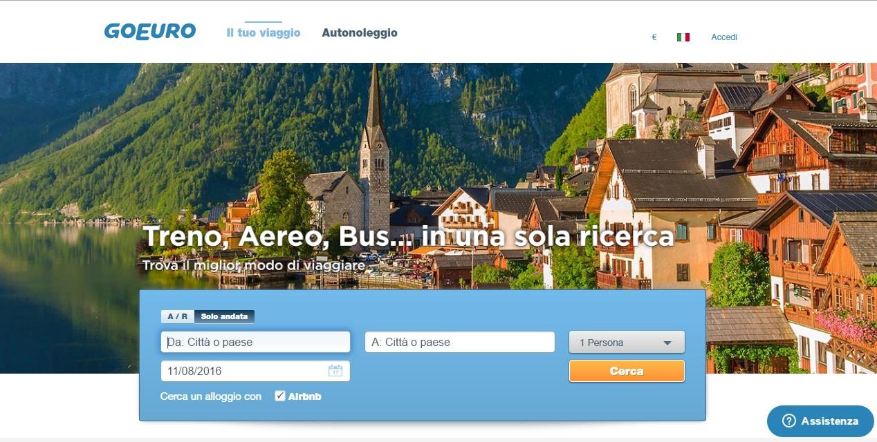 Photo of L'app di viaggi GoEuro prenota i tuoi viaggi con un click