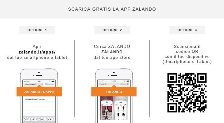 Zalando App - Come effettuare il download