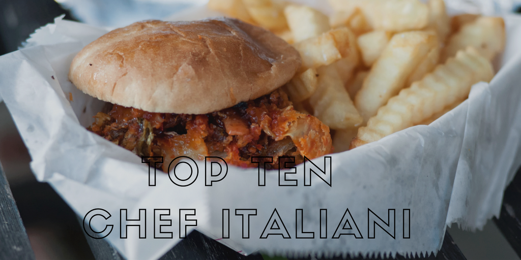 Top Ten Chef Italiani sui Social Network