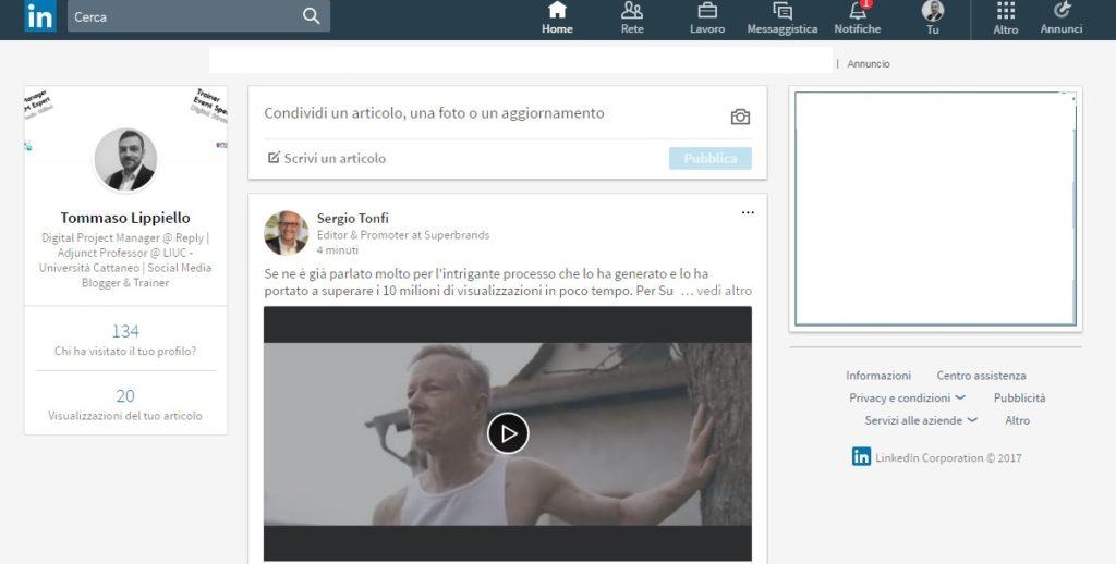 Home - Nuovo LinkedIn 2017
