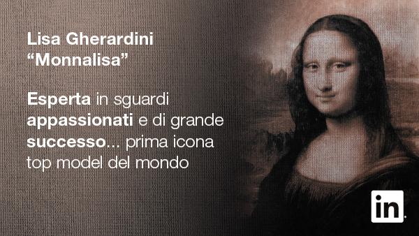 Monnalisa - Profilo LinkedIn - Campagna #StartSomething