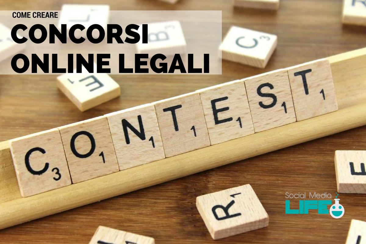 Come creare concorsi online legali