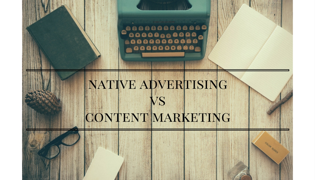 Qual'è la differenza tra Native Advertising e Content Marketing