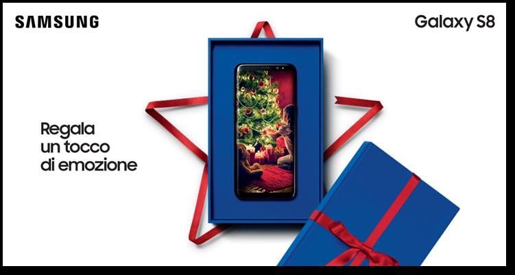 Galaxy S8 - Premio Xmas Giftie