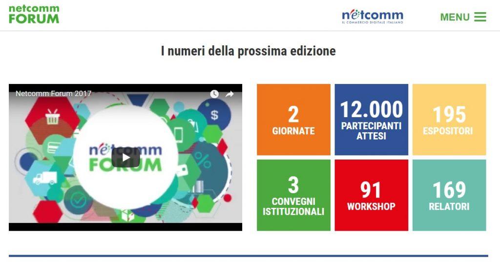 Netcomm Forum 2018 - I numeri